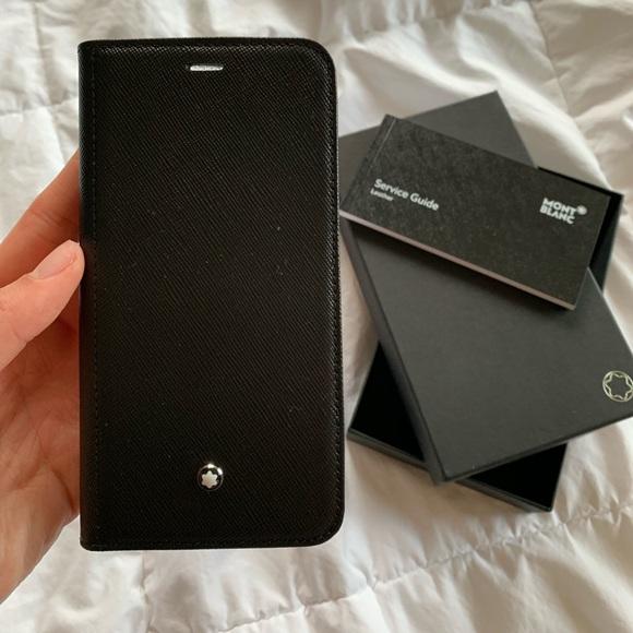 mont blanc iphone xs case